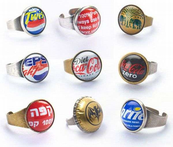 bottle caps jewellery