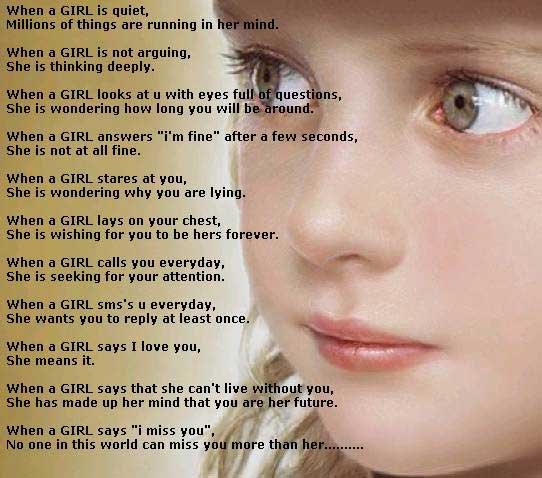 Difference between Boys & Girls Minds!