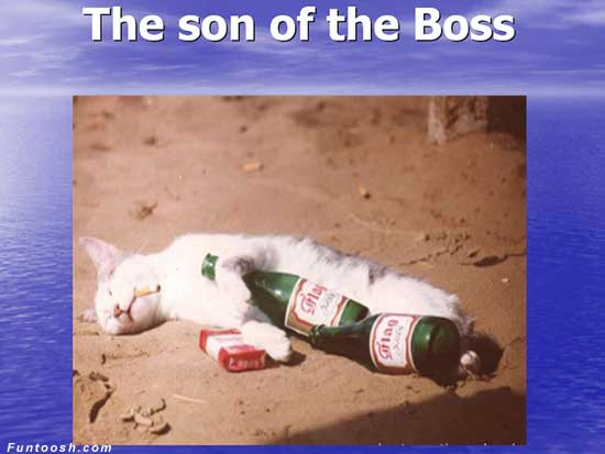 The Son of the Boss