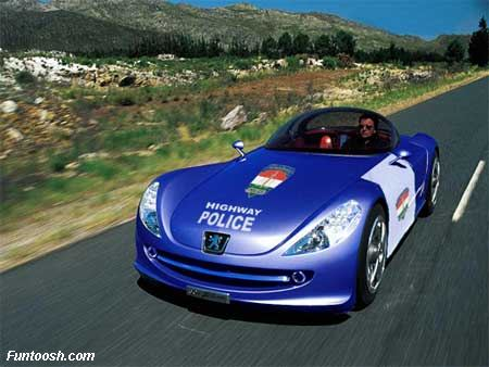 fast police cars picture