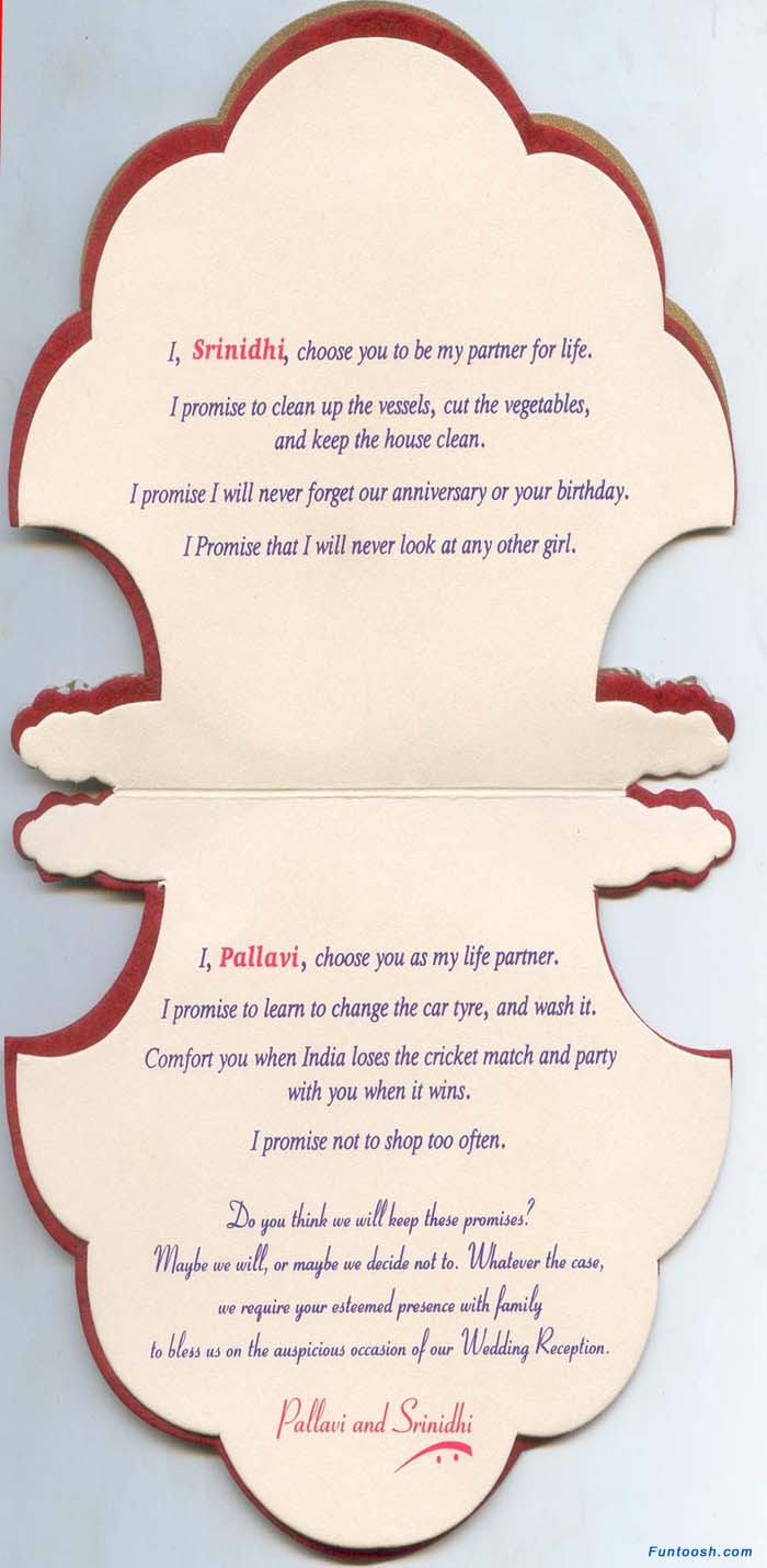 Funny Wedding Invitation Cards India : Wedding Card Part 2